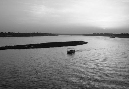 crépuscule/fleuve